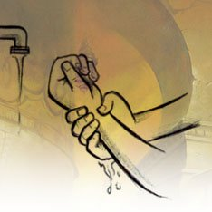 Se laver les mains 3 fois